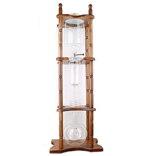 He-art Coffee Brewer Tower Frame Cold Brew Coffee Maker with Iced Drip Slow Brewer Kettle for Bar Decorations or Coffee Lovers Party