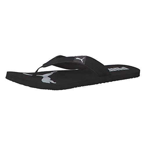 PUMA Cozy Flip, Zapatos de Playa y Piscina Unisex Adulto, Negro Black/Castlerock, 38 EU