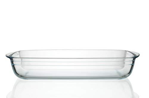 Plat de cuisson en verre - 39 cm