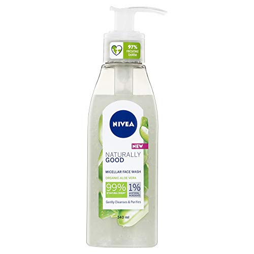 Nivea Naturally Good Micellar Face Wash gel