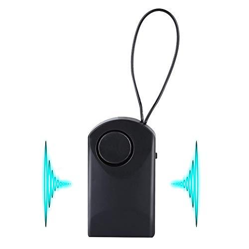 Mavis Laven Deurraamalarm, 120 dB luid draadloze aanraaksensor-veiligheidsalarm, draagbaar diefstalalarm voor op reis thuis in het hotel