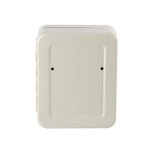 Tenfaキーボックス28キーキーケース壁掛け「12か月品質保証」暗証番号ダイヤル式鍵管理オフィス家庭専用キーホルダー付きインテリアオシャレ日本語説明書付(ホワイト)