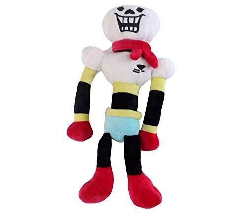 Boshu 9 Inch Undertale Plush Figure Toy,Stuffed Toy Sans Papyrus Chara Frisk Flowey Temmie Asriel Toriel Lancer Ralsei Undyne Doll for Children (Papyrus)