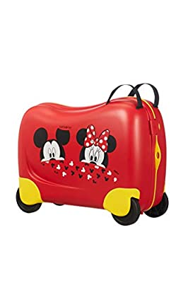 Samsonite Dream Rider Disney Children's Luggage, 51 cm, 28 Litre, Red (Mickey/Minnie Peeking)