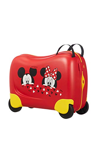 Samsonite Dream Rider Disney - Kindergepäck, 51 cm, 28 L, Rot (Mickey/Minnie Peeking)