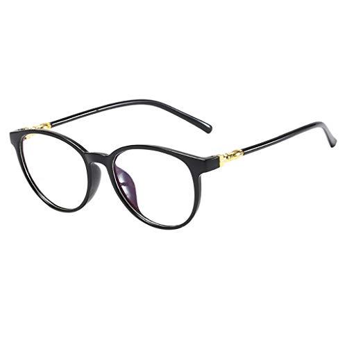 DOLDOA Blaulichtfilter Brillen Klassische Nerdbrille Brille Ohne Sehstärke Damen Herren Optische Brillen Nicht Verschreibungspflichtige Brillengestell mit Durchsichtigen Gläsern