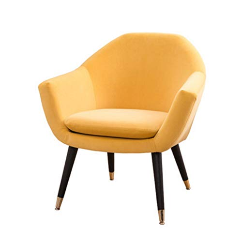 Creator-Z Sofa Individual de una Plaza, Sillon Descanso una 1 Persona, Butaca con Brazos Silln Sillón,Amarillo,B
