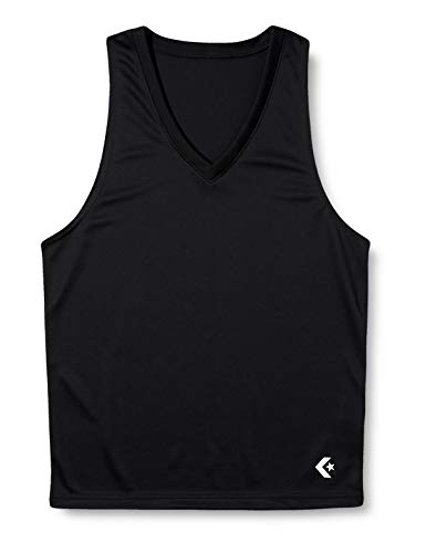 [コンバース] アンダーシャツ バスケット 試合/練習用 ストレッチ 吸汗 速乾 トレーニング メンズ ゲームインナーシャツ CB251703 ブラック L