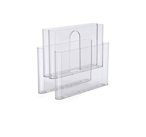 Kartell Magazine Rack, Transparent