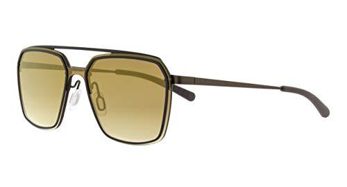 Spect Eyewear Clearwater 004 - Gafas de sol, color marrón y dorado