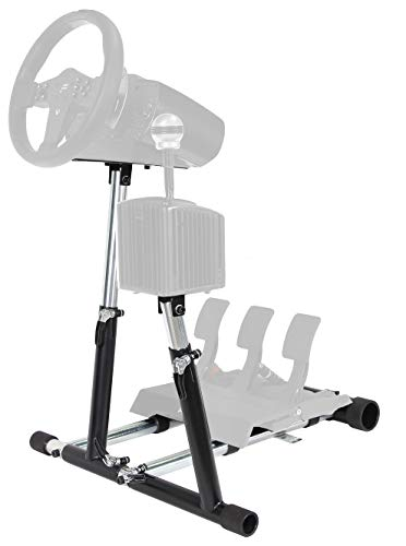 Wheel Stand Pro Super CSL Wheelstand Compatible with Fanatec CSL Elite Wheel/CSL Elite/CSL Elite LC Pedals/ GT3RS,CSP/CSPV2/V3,CSR/CSR Elite w/CSP/CSR/CSRElite Pedals V2 Wheel/Pedals Not Included