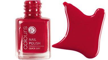 LR-Colours Nailpolish Quick Dry / Schnelltrocknender Nagellack-Hot Chilli