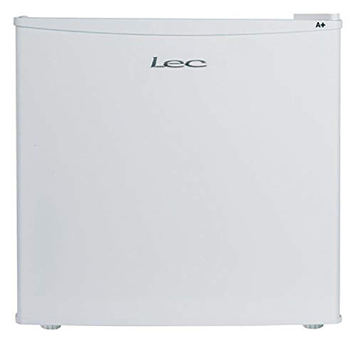 Lec R50052W Freestanding Tabletop Refrigerator, Adjustable Thermostat, 49L Total Capacity, 50cm wide, White