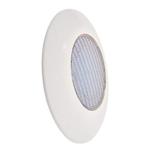 Foco de Piscina LED 25W Anclaje Superficie - Alta luminosidad 2250 lumens - Compatible Piscinas hormigón o Poliester - Compatible Piscinas Salinas - Luz Blanca fría 6000k