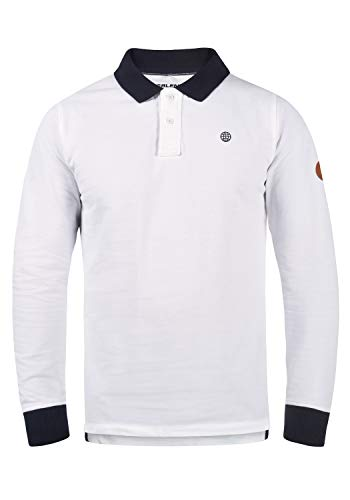 Blend Ralle 20703709ME Poloshirt, Größe:XL, Farbe:White (70002)