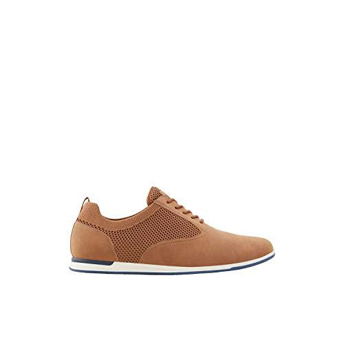 Aldo Men's Ballan Loafer Flat, Cognac, 10 UK