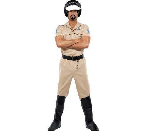 SMIFFYS Disfraz adulto Village People policía - Talla única + ...