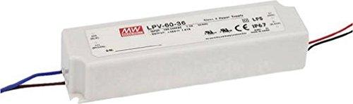 LED Netzteil 60W 36V 1,67A ; MeanWell, LPV-60-36 ; Schaltnetzteil