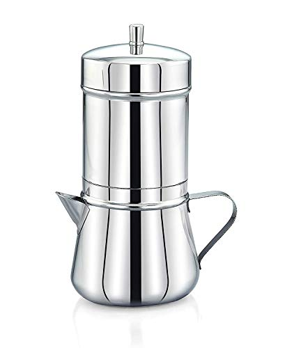 Expresso Stainless Steel South Indian Filter Coffee Maker, Tea Pot/Coffee Kettle 200 ml