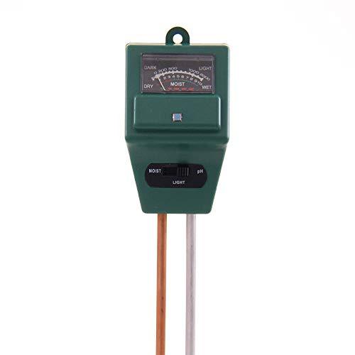 Find Bargain Nbrand Three in one Gardening Tester PH Meter Soil Moisture Meter Light Tester Soil Aci...