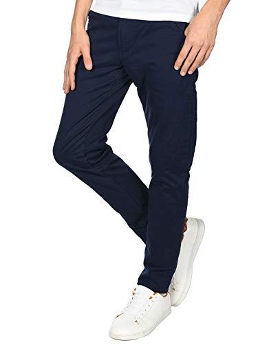 BEZLIT Jungen Thermo Chino Jeans Hose Gefüttert 22879 Blau 158
