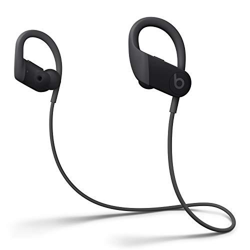 Auricolari Powerbeats Wireless ad alte Prestazioni – Chip Apple H1, Bluetooth di Classe 1, 15 Ore di Ascolto, Resistenti al Sudore - Nero (Ultimo Modello)