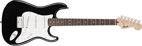 Squier by Fender Bullet Stratocaster Guitarra eléctrica de cola dura para principiantes – HSS – café Sunburst