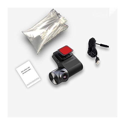 Cámara de Coche Dash Camera Cámara 24h Estacionamiento Monitoreo Video Recorder Hidden CAM Cámara Noche Visión Noche Cámara. (Color : V2 B, Talla : None)