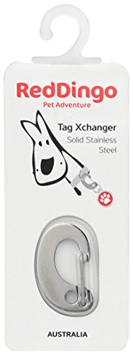 Red Dingo Tag Xchanger - Small - Silver