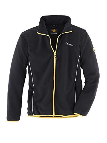Roadsign 61779-S-1090 Fleecejacke, schwarz/gelb