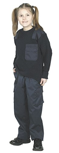 Unbekannt US BDU Pantalon Kids, L, Bleu