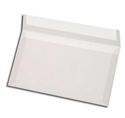 Transparente Kuverts, C6 = 162 x 114 mm, Haftklebestreifen, 75 Stück