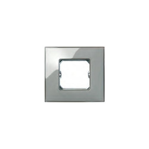 Simon - 27772-34 marco 2 elementos s-27 gris neos brillante Ref. 6552734560