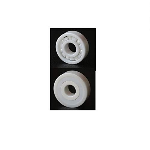 SUOFEILAIMU-PHONE CASE Teniendo Duradera 6009 Completo 45x75x16mm cojinete de cerámica de ZrO2 del Material cerámico 6009CE Todos los rodamientos de Bolas de Zirconia 1PC