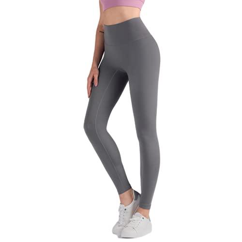 QTJY Leggings de Yoga para Mujer de Longitud Completa, Pantalones para Correr, Ajuste cómodo, Estiramiento, Pantalones de Yoga de Secado rápido, Pantalones de Fitness E XL