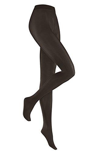 Hudson Strumpfhose Simply 40, 2er Sparpack - By Beauty & Legwear Store (44-46, Dunkelbraun)