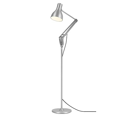 Anglepoise 30510 - Lámpara de pie, color plateado