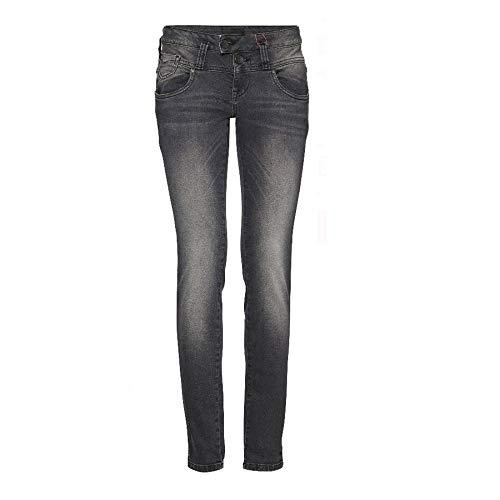 PULZ Damen Jeans Skinny fit Jeans Annet Midtwaist Schrittlänge L32, Hosengröße W28