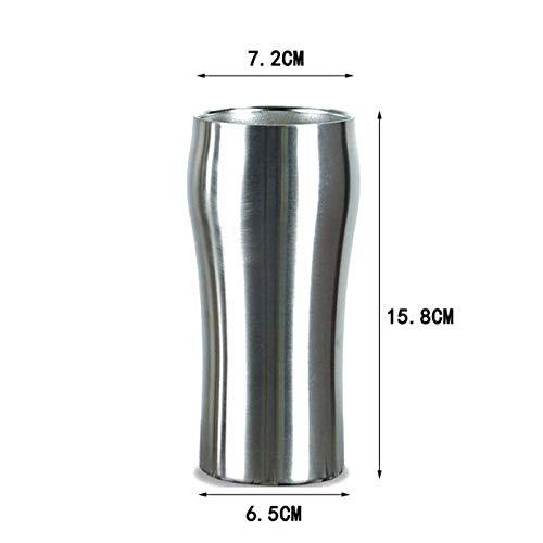 RVS vacuüm geïsoleerde Cup met Straw Dubbellaags Reis Beker Cars Bier Melkthee Mok voor thuiskantoor Bar Gebruik