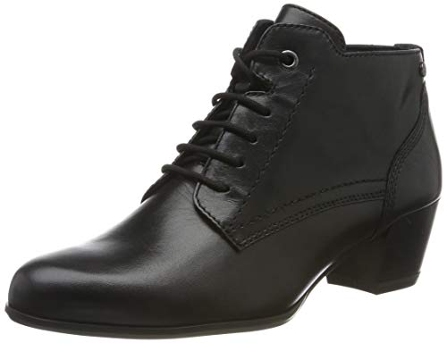 Tamaris Damen 1-1-25115-23 Stiefeletten, Schwarz (Black Leather 3), 39 EU