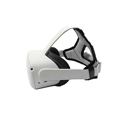 SHEAWA Oculus Quest 2用 ヘッドバンド ヘッドストラップ 重みを減少 アクセサリー (ライトグレー)