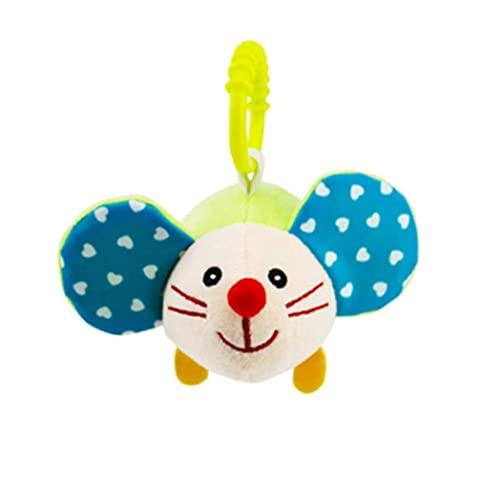 Jorzer Juguetes De Cochecito De Bebé, Juguetes para Colgar para Niños para Cuna Linda Actividad De Viaje Peluche Animal Toys Hamster, Juegos Y Equipos De Juegos