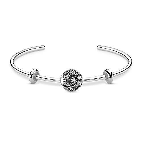 Armband Armreifen Panther Zahn Thomas Style Mode Rebel Schmuck Geschenk Für Frauen Neu Gut In 925 Sterling Silber Herz