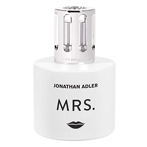 MAISON BERGER - Lampe Berger Gift Set Collection Jonathan Adler Modele Mrs - Home Fragrance Diffuser - Perfuming - 5x8x6 inches - Includes Fragrance Citrus Breeze 250 milliliters - 8.45 Fl.oz