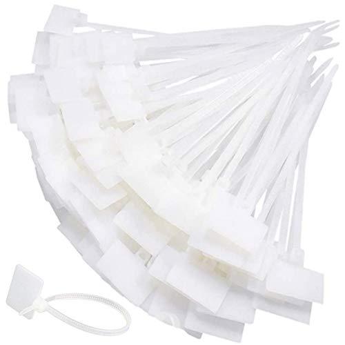 300 Piezas Bridas Blancas Bridas Plastico Blancas Bridas Blancas Largas Blanco Bridas...