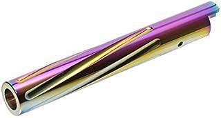 LayLax (ライラクス) NINE BALL 東京マルイ ガスブローバック Hi-CAPA5.1フルートアウターバレル [ツイストタイプ] ヒートグラデーション エアガン用アクセサリー