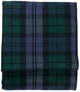 Pendleton - Eco-Wise Washable Wool Blanket, Black Watch, Queen