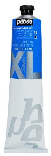 Pébéo - Olio fine XL 200 ML - Pittura Imitazione Ceruleum Blu Olio - Pittura ad Olio Pébéo - Blu Ceruleum 200 ml