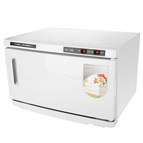 Esterilizador para toallas de 16 l, UV para calentar toallas de mano, calefacción desinfección 2 en 1, apto para casa, salón de belleza, barbería, spa Club, etc. ⭐
