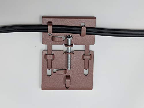 "Brick Clamp Hook - Fastener - Holds Up To 30 Pounds - Hang Decorations - Adjustable - Fits Bricks 2 3/8"" to 3 1/4"